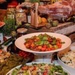Italiaans buffet op trouwerij