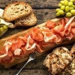 Salumi uit het Italiaans Buffet