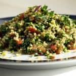 Tabouleh Salade uit het Arabisch buffet