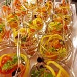 Luxe hapjes in glas voor Catering in Badhoevedorp